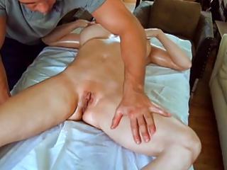 hot mamma massaged then pounded