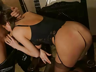 sexy french aged anal