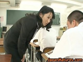 natsumi kitahara anal drilling three-some boy