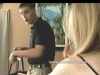mamma and son visit slavemaster aunt on her