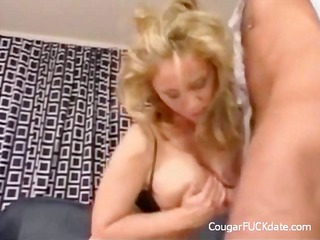 large titted cougar acquires her love tunnel
