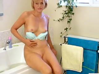 at home cougar marital-device bath masturbation
