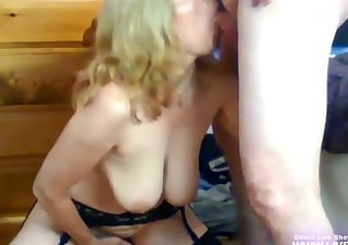 non-professional hot mother i kas bonks older boy