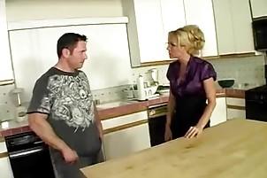 older housewife bonks her husbands ally